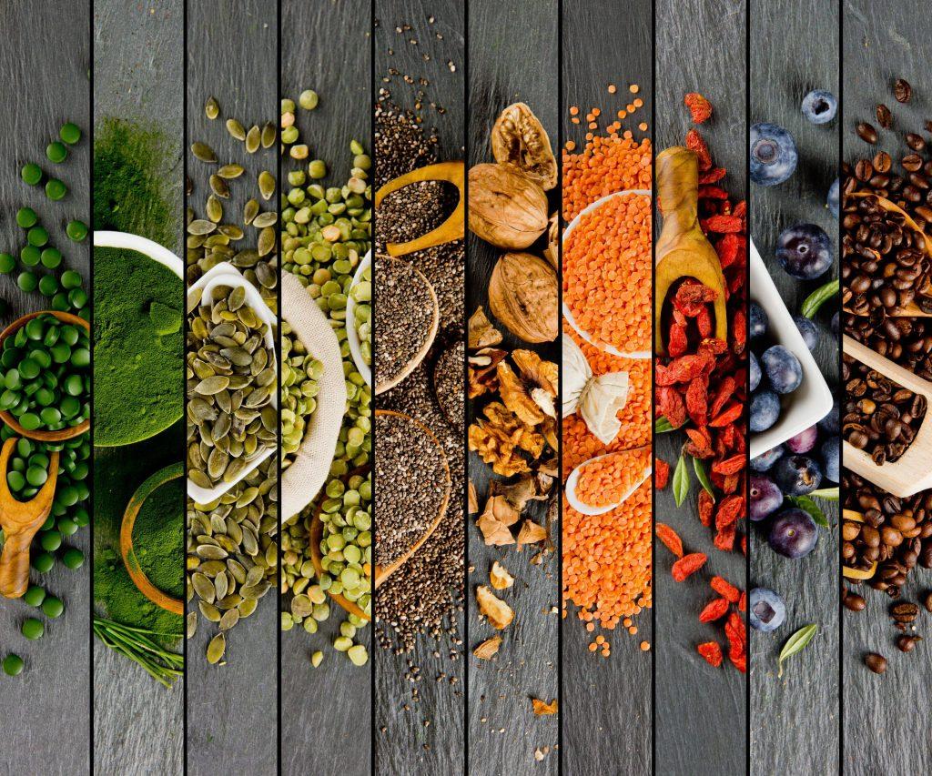 ingredientes para el consumo humano